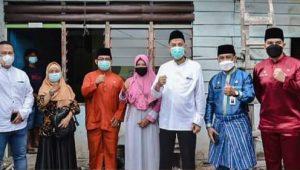 Walikota Dumai, H. Paisal Hadiri Acara Kick Off Program Bantuan Rumah Swadaya DAK