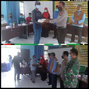 PT.Wilmar Group Bersama Unsur Upika Beri Bantuan Sembako Kepada Masyarakat Medang Kampai